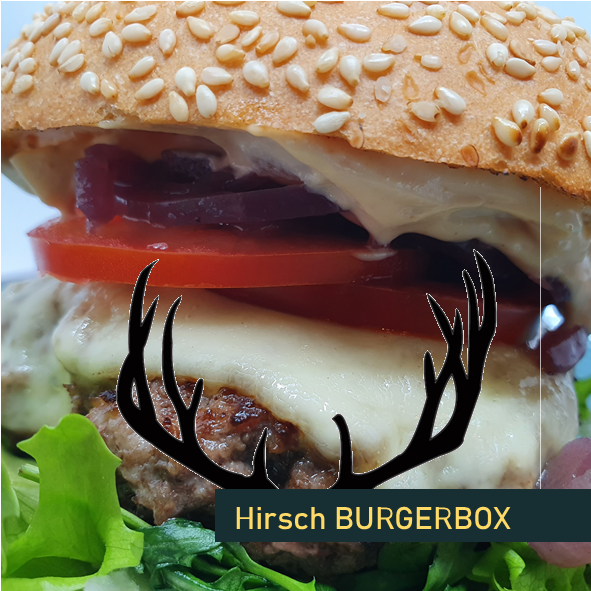 Burger Box Bausatz Hof Viehbrook Kochkurs Mels Restaurant Hirsch Wild