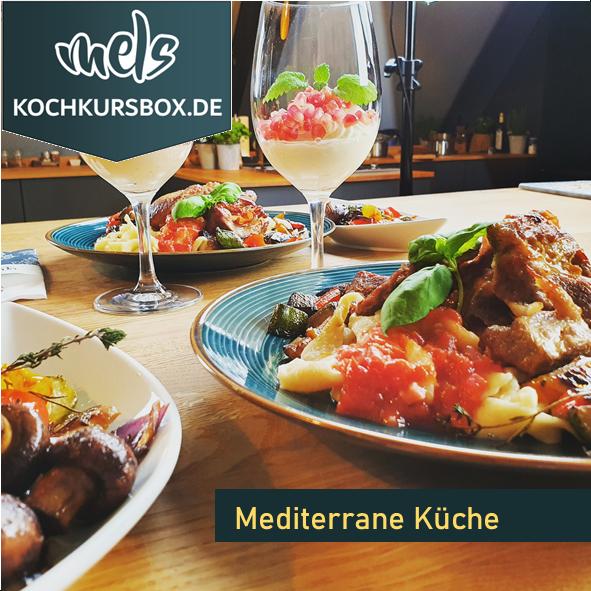 italienisch spanisch mediterran Kochkurs Box Kochschule Foodbox Mels Hof Viehbrook