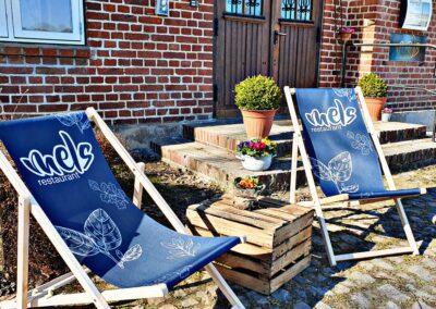 Chill Hof Viehbrook Mels Restaurant Liege Strandliege Event Radtour