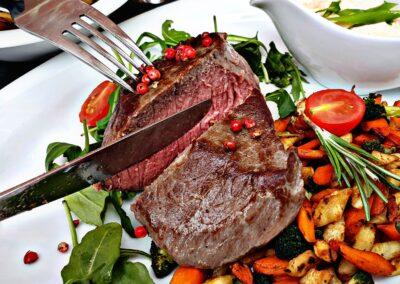 Steak Rind Highland Hof Viehbrook Mels Restaurant